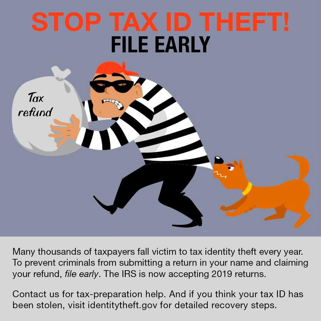 Tax ID Theft Big